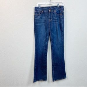 Lucky Brand Sweet'n Low Denim Blue Jeans size 4/27